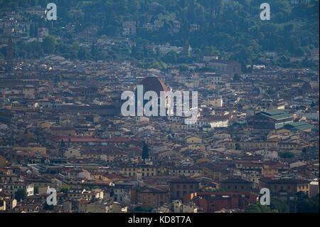 Basilica di San Lorenzo (Basilica di San Lorenzo) con la Cappella dei Medici nel centro storico di Firenze elencati Foto Stock