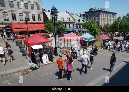 Montréal, Québec,24 Maggio,2016.luogo di Jacques Cartier in Old Montreal. credito:mario beauregard/alamy live news Foto Stock