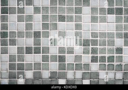 Grigio piastrella quadrata texture della parete e pavimento di
