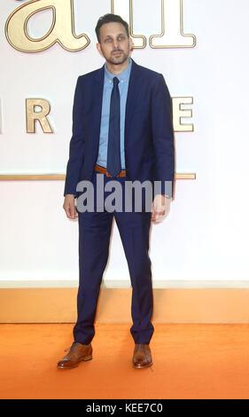 """Set 18, 2017 - dinamo frequentando 'Kingsman: Il Golden Circle"""" mondo Premiere, Leicester Square a Londra, Inghilterra, Regno Unito Foto Stock"""