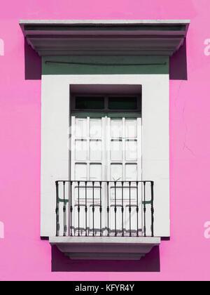 Belli, colorati Mexican finestre & porte. Foto Stock