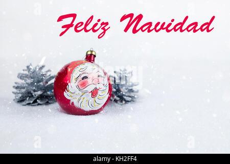 Babbo Natale In Spagnolo.Babbo Natale Decorazione Di Natale Feliz Natal Sao Paulo