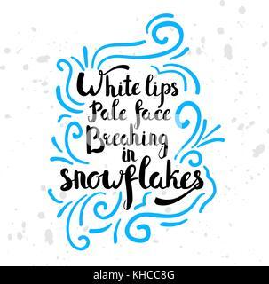 Stagione Invernale Motivazione Citazioni Di Testo Bel Tempo