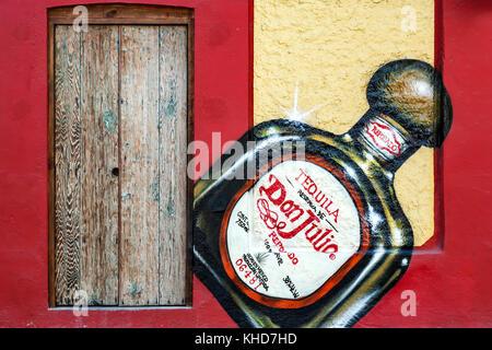 """Ingresso a """"La Cantina"""" ristorante, San Jose del Cabo, Baja California Sur, Messico Foto Stock"""