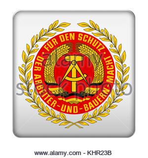 Assemblea nazionale del popolo (Esercito icona logo Foto Stock
