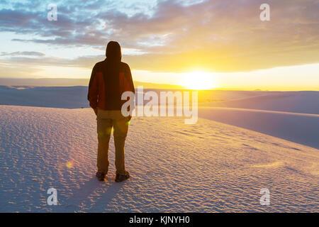 Tenda in bianco dune, Stati Uniti d'America