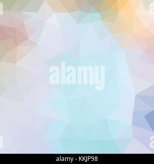 Mosaico astratto sfondo. triangolo sfondo geometrico. elementi di progettazione. illustrazione vettoriale. rosa, blu, viola i colori. La vista dalla finestra di inverno mite inverno colori Foto Stock
