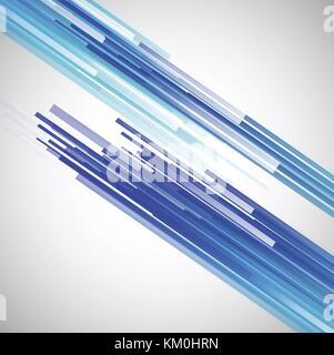 Le linee rette sfondo astratto Foto Stock