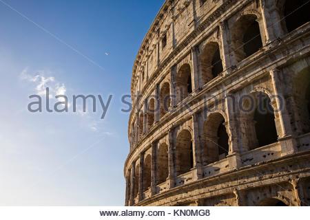 Il Colosseo a Roma, Italia. Foto Stock