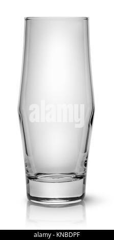 Elegante bicchiere da cocktail isolati su sfondo bianco. Foto Stock