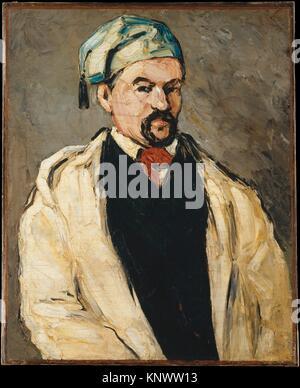 Antoine Dominique Sauveur Aubert (nato 1817), l'artista lo zio. Artista: Paul Cézanne (francese, Aix-en-Provence Foto Stock