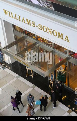 Williams-Sonoma nel Time Warner Center, Columbus Circle, NYC, STATI UNITI D'AMERICA Foto Stock