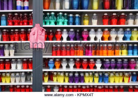 Lampions per la vendita Foto Stock