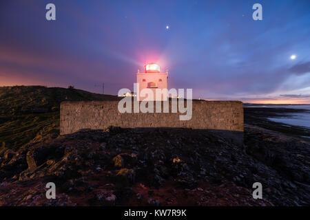 Notte photogaphy a Bamburgh Lighthouse Northumberland