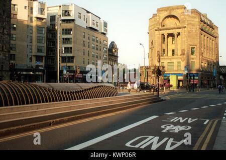 Glasgow Cross, Trongate, Glasgow, Scozia Foto Stock