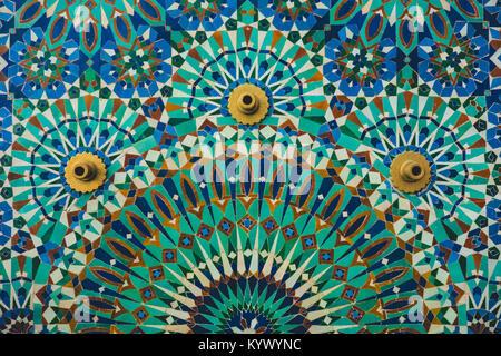 Orientaleggiante mosaico architettura marocco foto & immagine