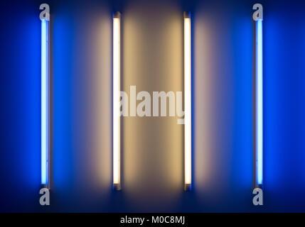 L tubo al neon osram l w lm colore bianco