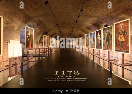 L'Italia,Piemonte, Provincia di Torino,Venaria Reale,Reggia di Venaria (Palazzo Reale di Torino) elencati come patrimonio Foto Stock