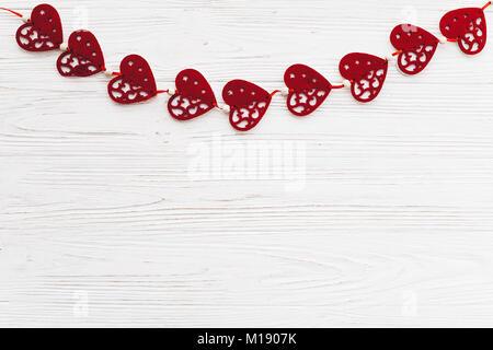 Il giorno di san valentino bordo superiore dei cuori - Colore del giorno di san valentino ...