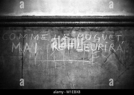 Philippe Gras / Le Pictorium - Eventi di maggio 1968 in Francia. - 1968 - Francia / Ile-de-France (Regione) / Parigi Foto Stock