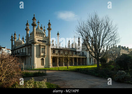 Royal Pavilion in Brighton, East Sussex, Inghilterra. Foto Stock