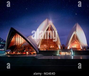 AU - Nuovo Galles del Sud: Sydney Opera House Foto Stock