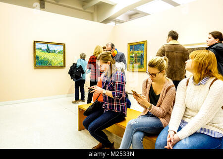 Veletrzni palac, National Gallery, Praga Holesovice, Repubblica Ceca Foto Stock