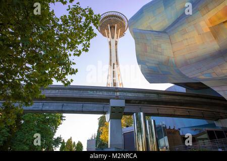 Seattle, nello Stato di Washington Foto Stock
