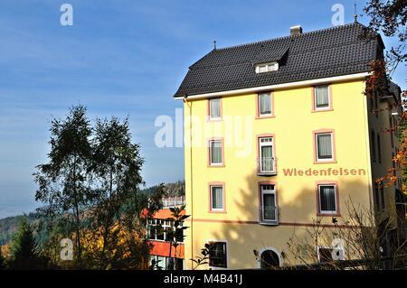 Casa Wiedenfelsen in Bühlertal Foresta Nera in Germania Foto Stock