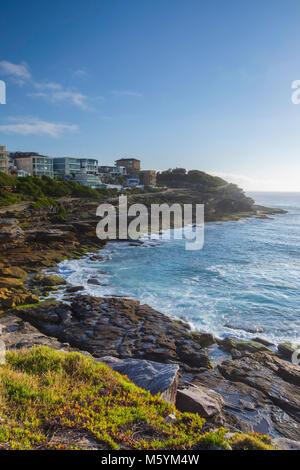 Costa di Bondi a Bronte a piedi, Sydney, Nuovo Galles del Sud, Australia Foto Stock