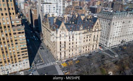 L'unità Dakota, 1 W 72st, Upper West Side di Manhattan, New York, NY 10023
