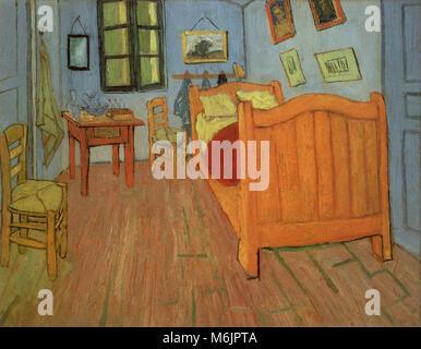Vincent Van Gogh la camera da letto Foto & Immagine Stock: 74377306 ...