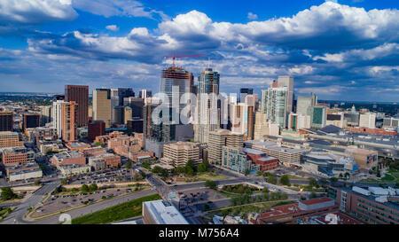 Centro di Denver, Colorado nel 2017 Foto Stock