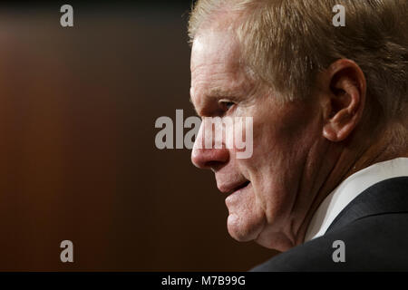 Washington, Stati Uniti d'America. 07Th Mar, 2018. Stati Uniti il senatore Bill Nelson, democratici della Florida, Foto Stock