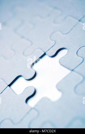 Il pezzo mancante del puzzle Foto Stock