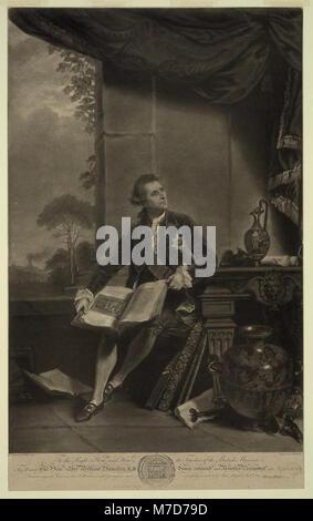Onorevole Sir William Hamilton LCCN2004670280 Foto Stock