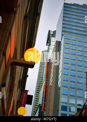 Times Square e il vecchio New York Times building on 43rd Street, New York, Stati Uniti d'America Foto Stock