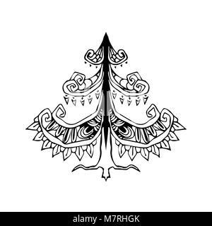 Disegni Di Alberi Di Natale Stilizzati Awesome Albero With Disegni