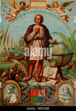 Cristóbal Cólon - su vida, sus viajes, sus descubrimientos (1891) (14798141123)