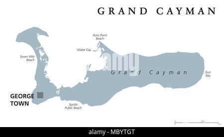Cartina Politica Dei Caraibi.Isole Cayman Mappa Politico Foto Immagine Stock 80811934 Alamy