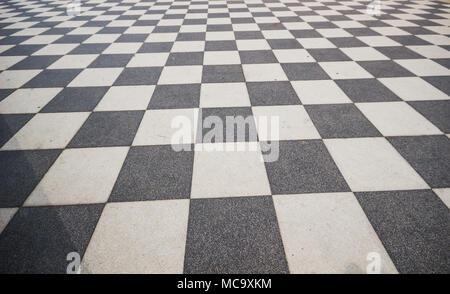 Piastrelle a scacchi china nero marquina e pavimentiin piastrelle