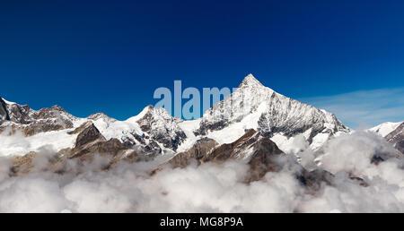 Zermatt. Il Cervino. La Svizzera. Schweiz. Foto Stock