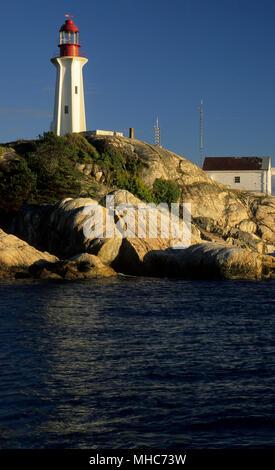 Punto Atkinson Lighthouse, il faro Park, Vancouver, British Columbia, Canada Foto Stock