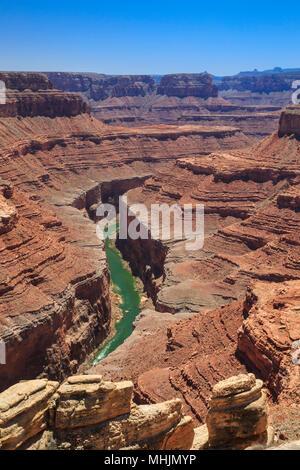 Marble canyon del fiume Colorado in fattoria buck canyon area del parco nazionale del Grand Canyon, Arizona Foto Stock