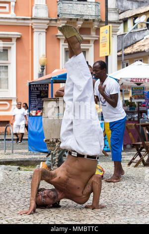 Immagini dal mio tempo a Rio de Janeiro e Salvador, Bahia. copertura dalla spiaggia al paesaggio. Foto Stock