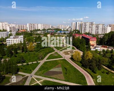 Mosca, Russia - 13 Maggio .2018. Vista della città dall'alto Foto Stock