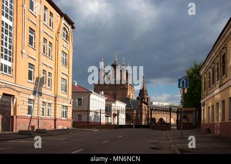 Mosca, Russia - 13 Maggio 2018: Krutitsy Metochion della chiesa russo-ortodossa in estate in una giornata di sole. Mosca, Russia Foto Stock