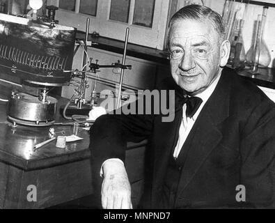 OTTO LOEWI (1873-1961) Tedesco farmacologo che ha vinto il Premio Nobel per la medicina e la fisiologia nel 1936 Foto Stock