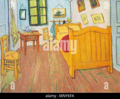 Vincent la camera da letto di Arles 1888 Vincent van Gogh 1853 ...