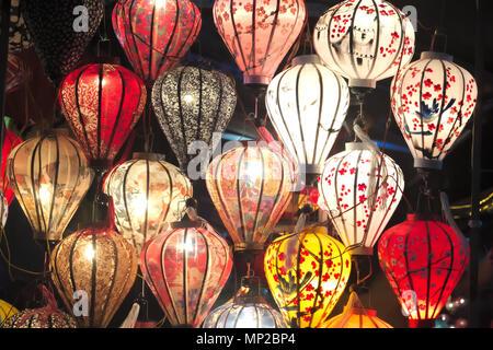 Lanters ad Hoi An Foto Stock
